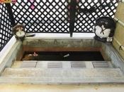 東郷温泉たぬき足湯