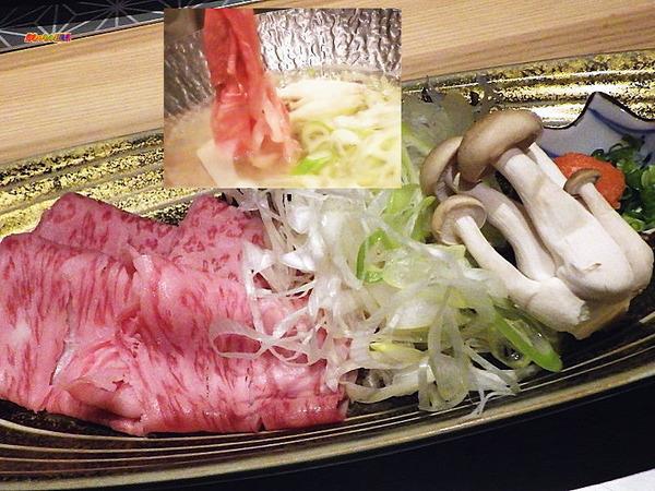 小鍋/黒毛和牛しゃぶ鍋 (他野菜・薬味)