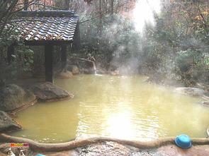混浴露天風呂『こぶしの湯』