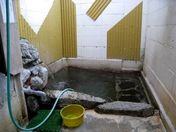ベイビィラック温泉 湯船