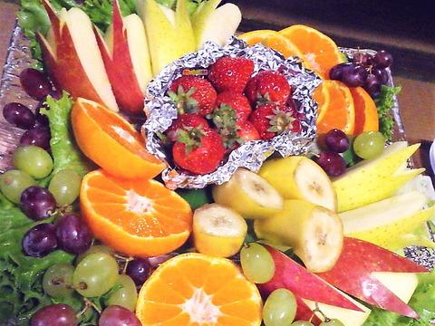 果物盛り合わせ