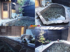 殿方の湯 露天風呂