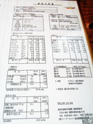 温泉分析書