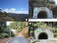 長野トンネル〜黒滝トンネル