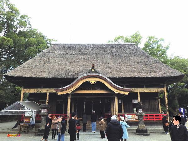 青井阿蘇神社 拝殿