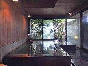 六階男性展望露天風呂『天空の森』内湯