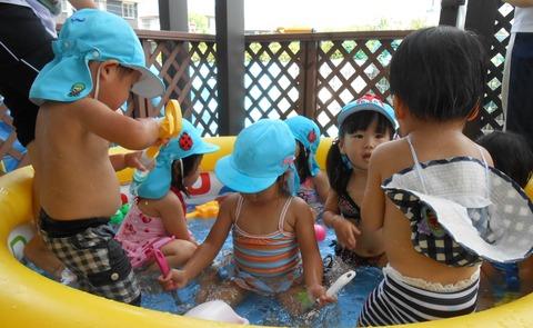 水遊び、プール遊び 020