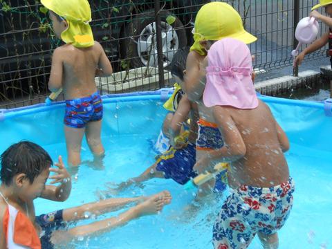 水遊び、プール遊び 030