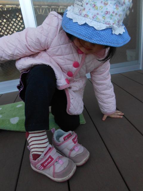 靴をはく5