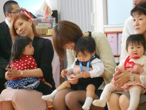 入園式1歳児