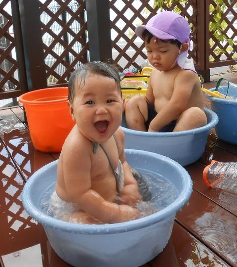 水遊び、プール遊び 012