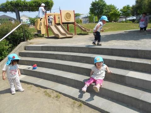 2歳児階段