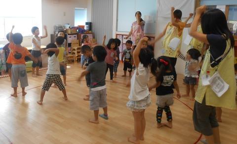 開会式ダンス