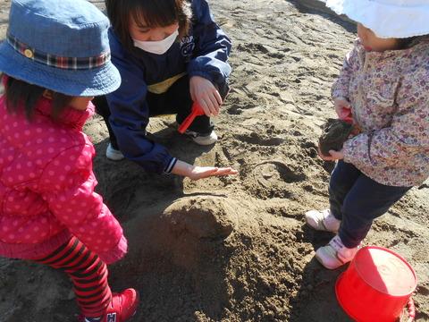 砂場遊び5
