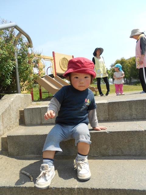 1歳児階段