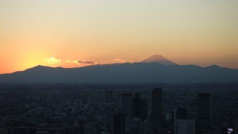 元旦富士山1