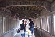 竹生島 舟廊下