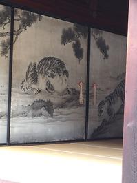 ふすま絵 虎