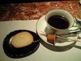 最後にコーヒー
