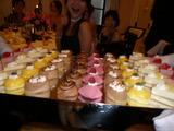ずらり!ケーキの列