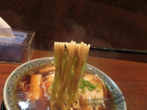 鶴亀 麺上げ