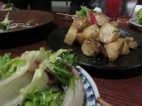 アルス南青山 サラダと芋