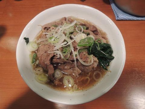 肉肉ラーメン 新宿 20131209
