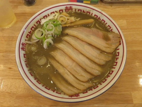肉中華そばムタヒロ 20160825