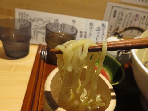 鮎ラーメン+ 麺上げ