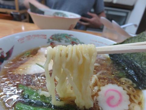 正遊 麺上げ