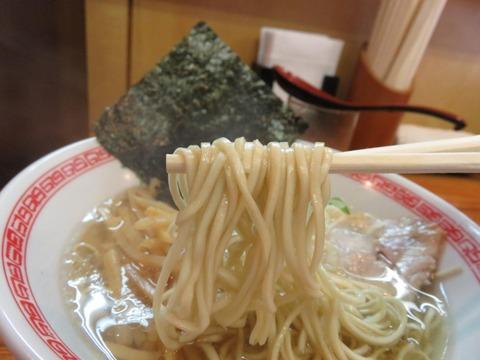 魚群 麺上げ