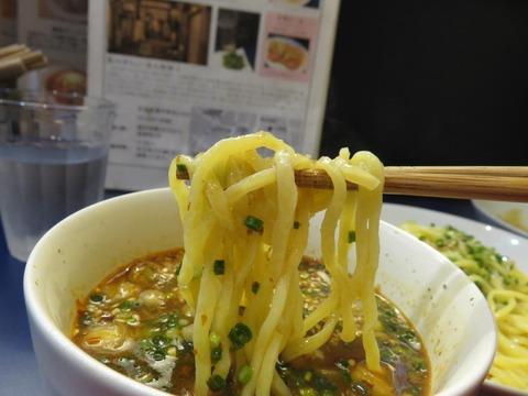 三神森 麺上げ