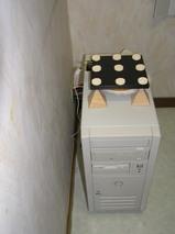 納戸のパソコン