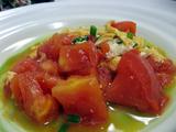 トマトと玉子の炒め
