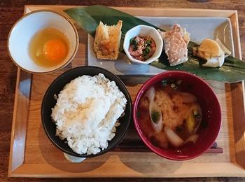 鳥取の朝食