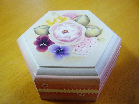 鈴木慶子先生の「バラ色のミニボックス」2