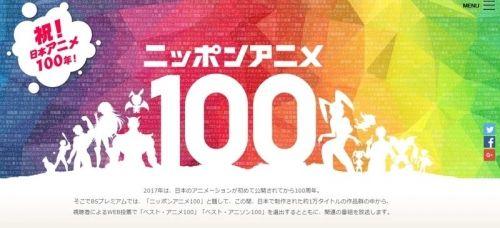 NHK「ベスト・アニメ100」結果発表!1位に輝いた作品は?
