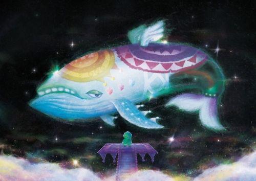 フランスのアーティストが描いたゲームの1シーンをモチーフにした絵画が印象的