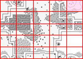 [RPG]ハイドライド/(7)妖精3人目~オクトパス討伐_13城前ミニマップ