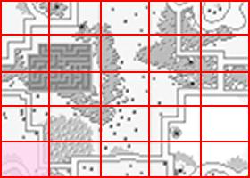 [RPG]ハイドライド/(7)妖精3人目~オクトパス討伐_06水路出入口2ミニマップ