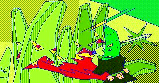 [ADV]サラダの国のトマト姫/(4) ADV3_20ヤマタノバナナと戦闘