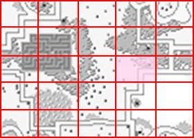 [RPG]ハイドライド/(7)妖精3人目~オクトパス討伐_04水路出入口1ミニマップ