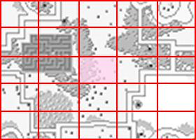 [RPG]ハイドライド/(3)レベリング_02ミニマップスタート位置