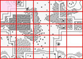 [RPG]ハイドライド/(7)妖精3人目~オクトパス討伐_009WIZARDのいる島ミニマップ
