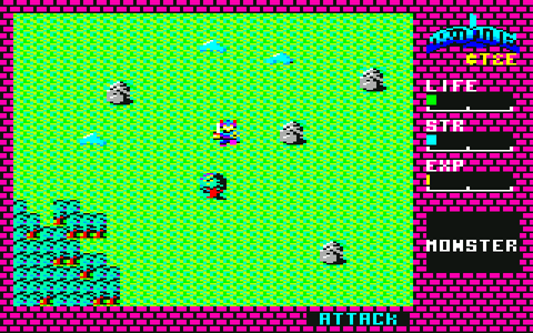 [RPG]ハイドライド/(3)レベリング_05LIFE10→30レベリング