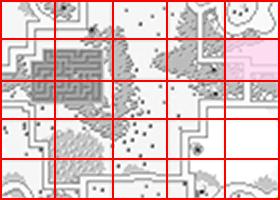 [RPG]ハイドライド/(4)アイテム取得その1_01ミニマップ_十字架位置