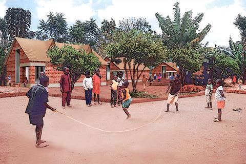 タンザニアの寄宿舎