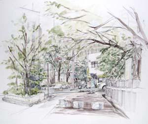 「街の風景」