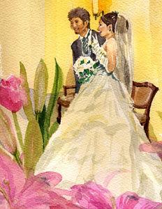 「姪のお婚礼」