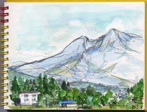 「妙高山」